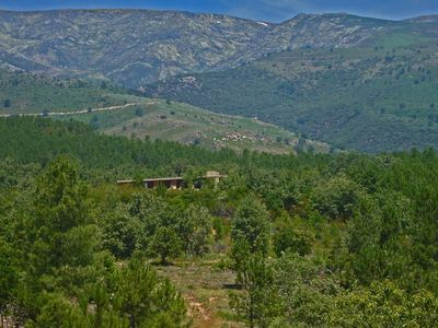 Photo for Spectacular villa with pool and impressive views in lush nature close to Madrid