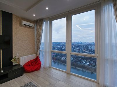 Photo for luxury 2BDR with lake view