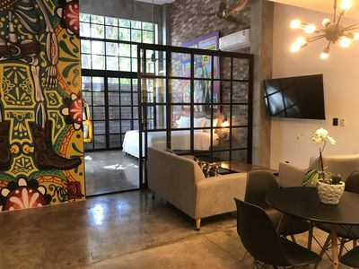 Photo for Lofts On Basilio : BEST LOCATION Romantic Zone /Brand New Building with pool 202