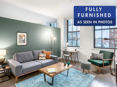 Photo for Chic Downtown 1BR w/ Gym, near South Station by Blueground