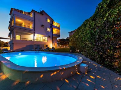 Photo for 448 m from the center of Vodice with Internet, Pool, Air conditioning, Parking (747101)