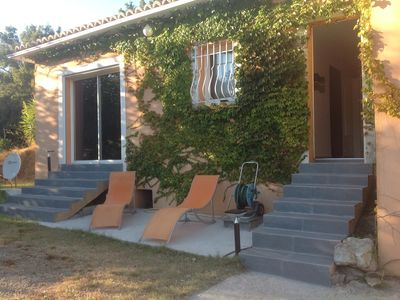 Photo for Air-conditioned villa 4 people in peace at 2 minutes from the beach