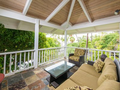 Photo for Upscale 3 bedroom bungalow in an oceanfront estate