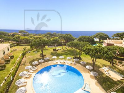 Photo for SUPERB 2 BED APARTMENT,  A/C, WI-FI, LARGE SWIMMING POOL, JUST 350M TO THE BEACH