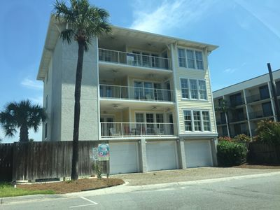Photo for Oceanview pet friendly Tybee condo on Tybee's south end. PERFECT LOCATION!!
