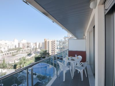 Photo for Apartment in residential with pool, 100m. from the center of Calpe.