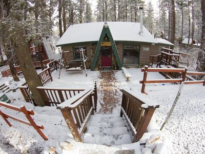Photo for Bacon Paradise: Affordable Big Bear Cabin Rental