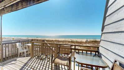 "Photo for No Storm Damage! FREE BEACH GEAR! Beachfront, East End, Community Pool, Wi-Fi, 2BR/2.5BA ""Ocean Mile G-2"""