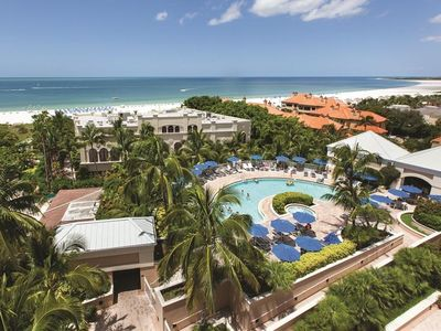 Photo for BEACH VACATION STARTS HERE!! FANTASTIC 2BR/2BA APARTMENT, POOL, SPA