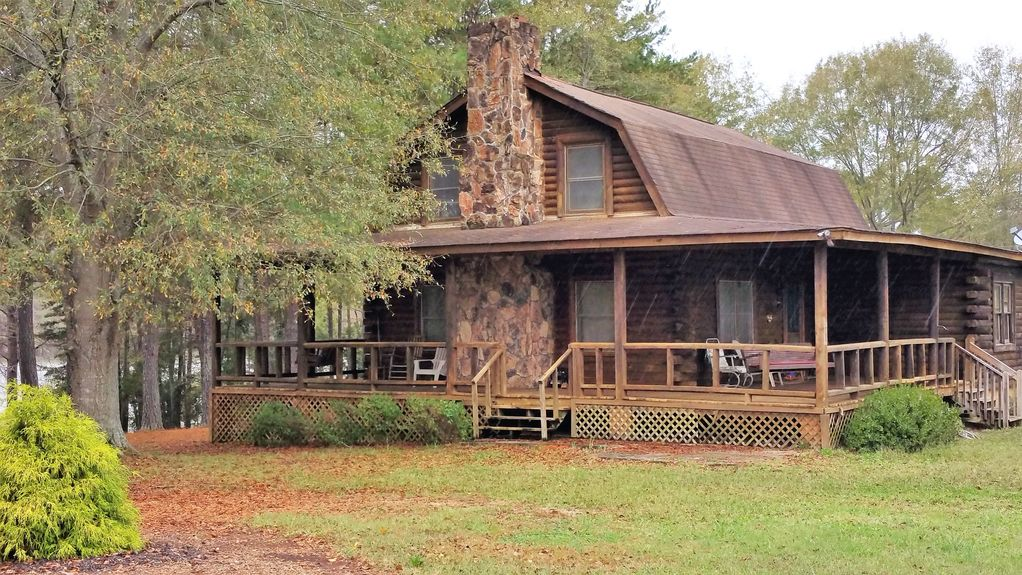 log cabin on lake hartwell private dock homeaway