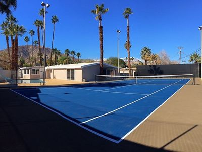 Photo for Mid-Century home with private Tennis court and pool