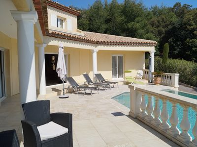 Photo for ST AYGULF NEW VILLA WITH SWIMMING POOL SEA VIEW for 10 people comfort 5 *