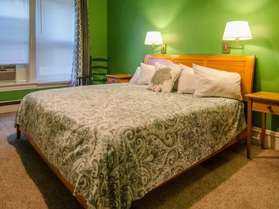 Photo for Ground Level King Room with Custom Full Breakfast in downtown Shelburne, VT