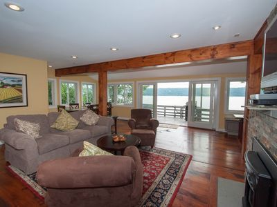 Photo for Lakefront, Private Dock, Private Deck, Amazing Views, Pet Friendly, Upscale