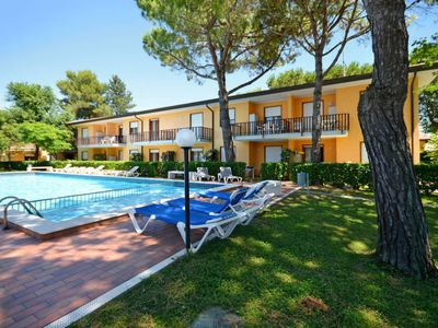Photo for 2 bedroom Apartment, sleeps 6 with Pool, Air Con, WiFi and Walk to Beach & Shops