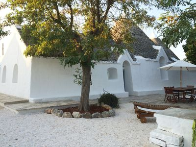 Photo for Independent Trullo in a Borgo