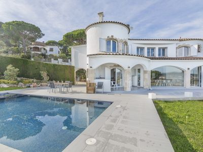 Photo for Villa Colette for 8 people with amazing views of the beach of Palamós.