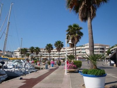 Photo for POC118 Superb sea and harbor view, roof garden, 100m from the beach