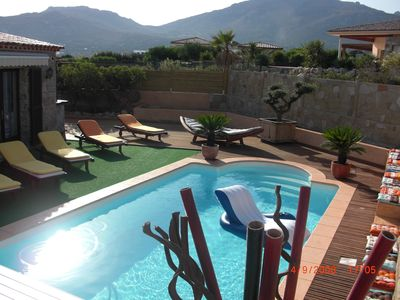 Photo for CHARMING VILLA CLIMATISEE WITH SWIMMING POOL AND PETANQUE PLOT