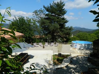 Photo for Gîte Cevennes of even foot comfort with private swimming pool 12 pers
