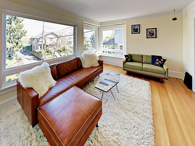 Photo for Historic 3BR w/ Balcony, Fenced Backyard & Patio - Walk to Queen Anne Avenue