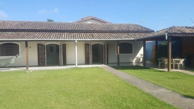 Photo for EXCELLENT HOUSE with AIR CONDITIONING in PRAIA GRANDE, 5 minutes from the SEA