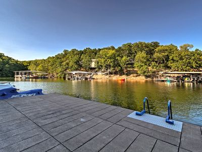Photo for NEW! Waterfront Lake Ozark Condo w/ Balcony & Pool