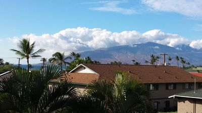 West Maui Mountain view from my balcony
