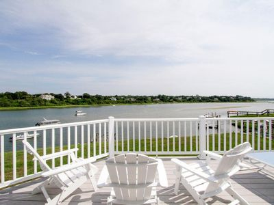 Photo for Waterfront Overlooking Town Cove w/ Private Dock