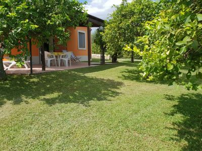 Photo for Near the natural reserve of Vendicari, surrounded by a farm, air conditioning