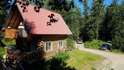 Photo for Cabin In the Woods Near Kenai
