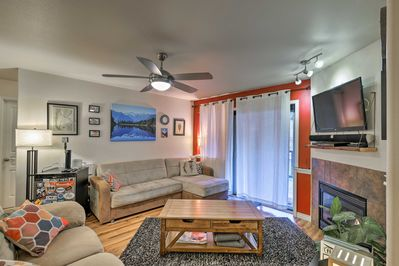 Book your Alaskan ski trip to this 2-bed, 2-bath Girdwood vacation rental condo.