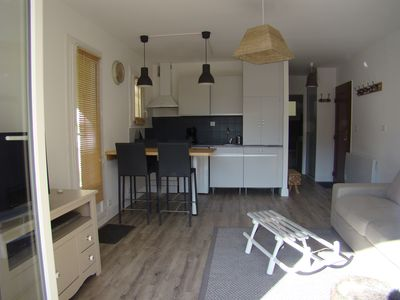 Photo for SPACIOUS T2 WITH TERRACE WITH TWO STEPS OF TELECABINES