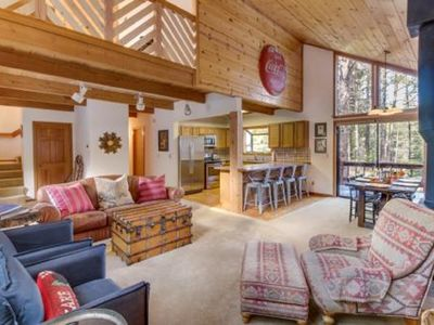 Photo for Tahoe Donner Cabin W/Resort Amenities ,Kid And Dog Friendly