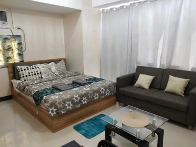 Photo for Cozy Studio Unit @ Viceroy Condo, Mckinley Taguig