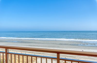 Photo for One of a kind! Oceanfront condo w/personal sundeck and panoramic views
