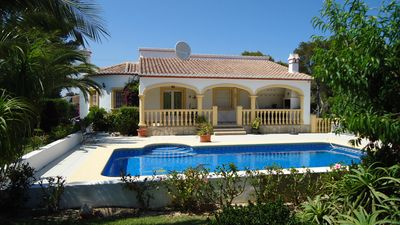 Photo for 3 Bed Villa, Air Con, Wifi, UK TV, Pool,  Garden, Parking