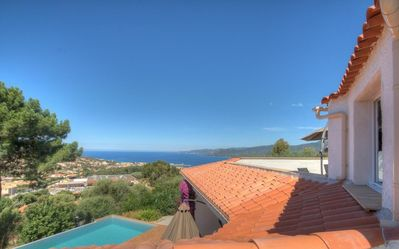 Photo for Beautiful holiday home, charm and rest. Seaview!