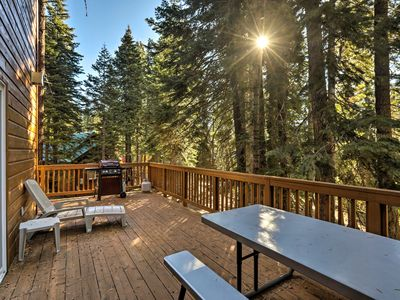 Photo for NEW! Rustic Tahoe Home w/Hot Tub Near Squaw Valley