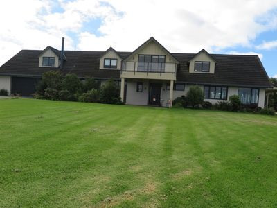 Photo for Modern, light, convenient, fully fitted space with sea views and spacious garden
