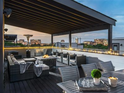 Photo for Four Season Rooftop Terrace - Private and Fully Furnished!