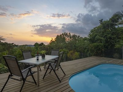 Photo for Two Bedroom on private setting with ocean views and Swimming pool