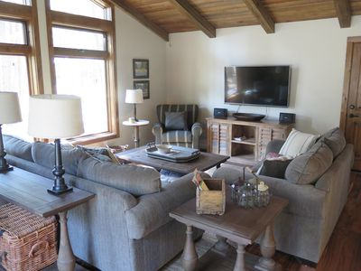 Photo for New Listing! Cozy Getaway in Continental Ctry Club, Large Wooded Lot & Wildlife