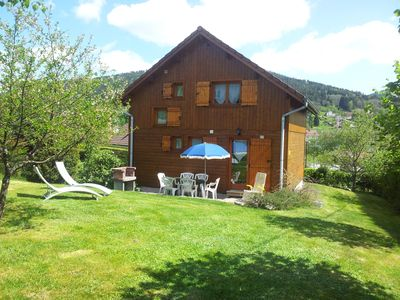 Photo for 3 stars Chalet For 6 or 7 people in GERARDMER, fenced garden, WIFI