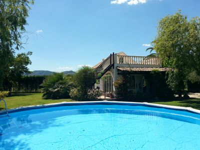 Photo for Pretty, Detached, Villa With Private Pool In Oliva, Only 600m From The Beach