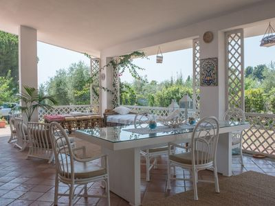 Photo for Villa Mare, on the coast between Gaeta and Sperlonga just a few meters from the sea