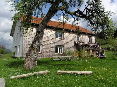 Photo for Quiet apartment, spacious and bright in a mountain farm,