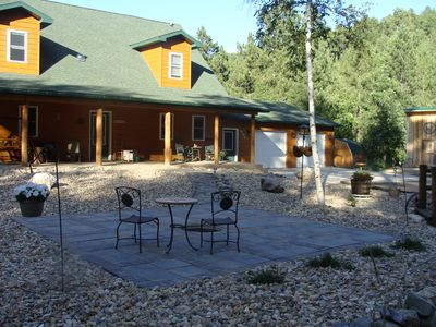 Photo for Black Hills Getaway in a quiet, secluded area with scenery and hiking trails.