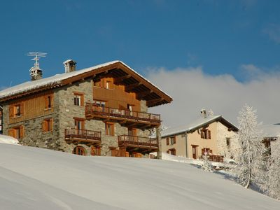 Photo for holidays in chalet. 3 room cabin with fireplace