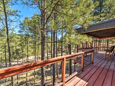 Photo for NEW! Ruidoso Condo w/Deck, 13 Mi. from Ski Apache!